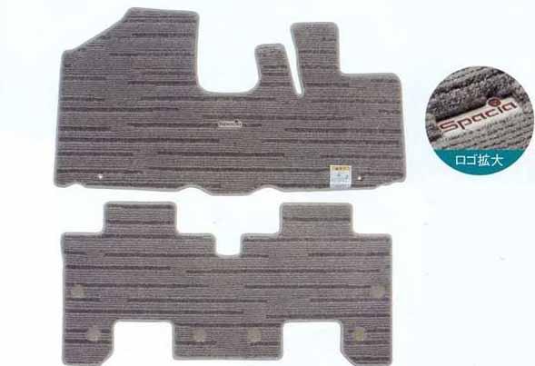 『スペーシア』 純正 MK32S フロアマット・ジュータン(ラミネ) 1台分 パーツ スズキ純正部品 フロアカーペット カーマット カーペットマット spacia オプション アクセサリー 用品