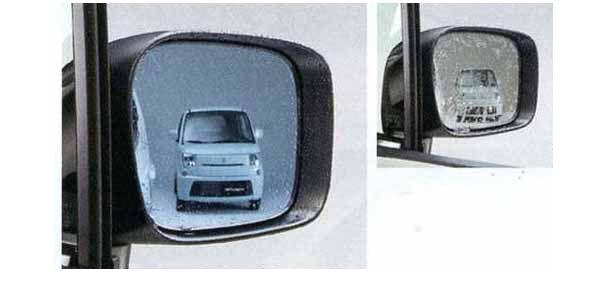 『スペーシア』 純正 MK32S ハイドロフィリックドアミラー 左右セット ブルー パーツ スズキ純正部品 水滴 視界 ブルー spacia オプション アクセサリー 用品