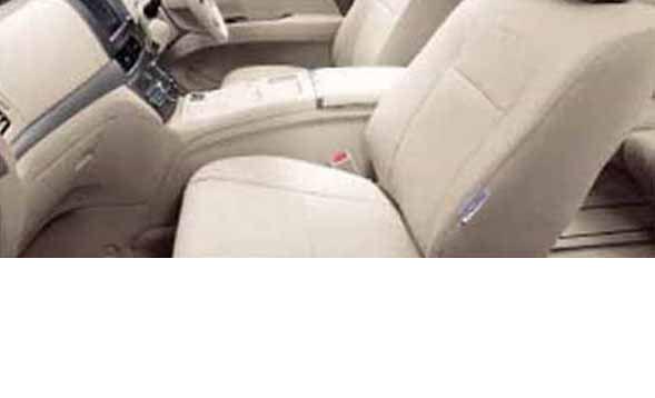 『エスティマハイブリッド』 純正 AHR20 革調シートカバー パーツ トヨタ純正部品 座席カバー 汚れ シート保護 estima オプション アクセサリー 用品