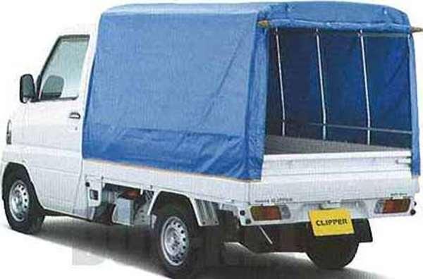 『クリッパートラック』 純正 U71V 幌(一方開) パーツ 日産純正部品 ホロ トラック幌 CLIPPER オプション アクセサリー 用品