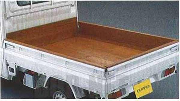 『クリッパートラック』 純正 U71V 木製荷台プロテクター フロント+サイド+フロアのセット パーツ 日産純正部品 CLIPPER オプション アクセサリー 用品