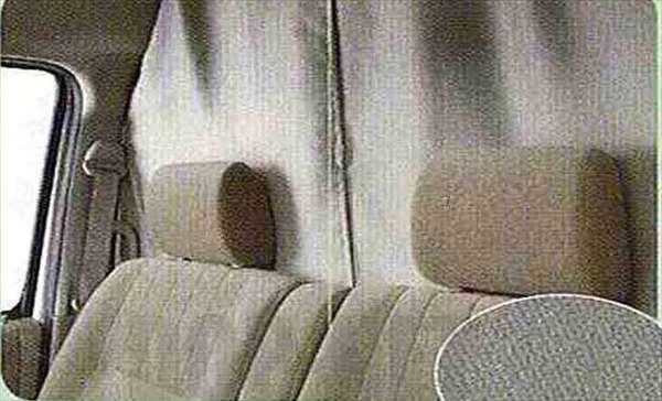 『ハイゼットカーゴ』 純正 S321 S331 セパレーターカーテン(遮光タイプ) パーツ ダイハツ純正部品 室内カーテン 目隠し 日除け hijetcargo オプション アクセサリー 用品