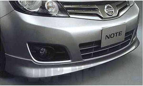 『ノート』 純正 E11 ZE11 NE1 フロントプロテクター パーツ 日産純正部品 NOTE オプション アクセサリー 用品