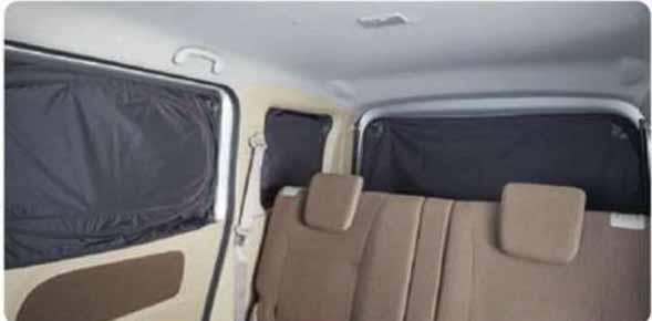 『エブリイワゴン』 純正 DA17W リヤプライバシーシェード(メッシュ付) パーツ スズキ純正部品 every オプション アクセサリー 用品