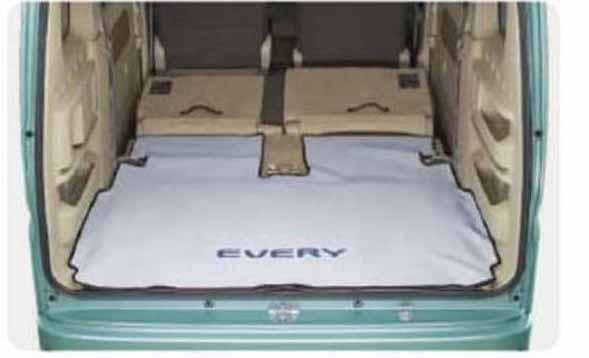 『エブリイワゴン』 純正 DA17W ラゲッジマット(ソフトタイプ) パーツ スズキ純正部品 ラゲージマット 荷室マット 滑り止め every オプション アクセサリー 用品