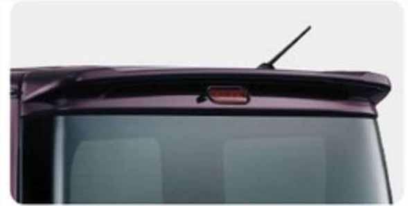 『エブリイワゴン』 純正 DA17W ルーフエンドスポイラー(標準ルーフ用) パーツ スズキ純正部品 ルーフスポイラー リアスポイラー every オプション アクセサリー 用品