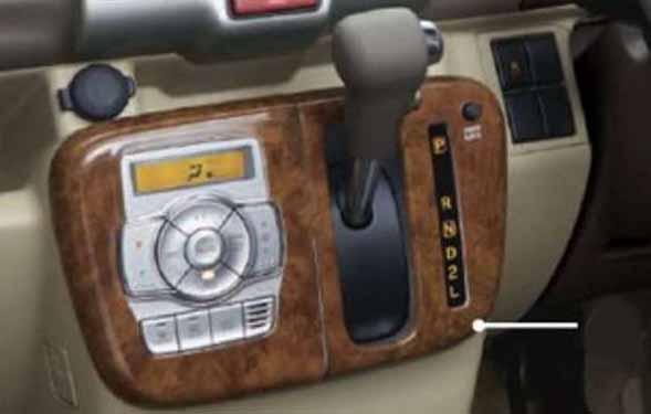 『エブリイワゴン』 純正 DA17W センターロアガーニッシュ オートエアコン用 パーツ スズキ純正部品 内装パネル センターパネル オーディオパネル 内装パネル 飾り ドレスアップ every オプション アクセサリー 用品