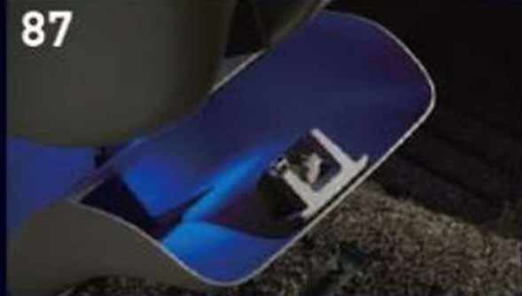 エブリイワゴン 純正 DA17W コンソールボックスイルミネーション 安売り パーツ スズキ純正部品 [宅送] 照明 ライト 明かり オプション アクセサリー 用品 every