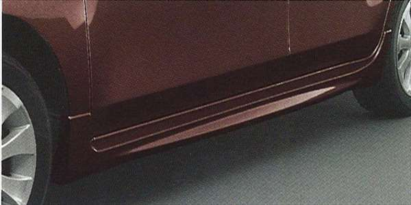 『coo』 純正 M401 サイドストーンガード パーツ ダイハツ純正部品 オプション アクセサリー 用品