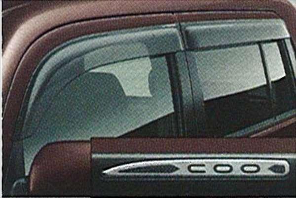 『coo』 純正 M401 ワイドバイザー パーツ ダイハツ純正部品 オプション アクセサリー 用品