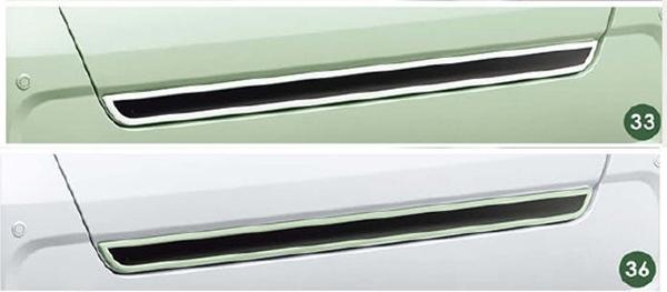 『タント』 純正 la650s la660s バックドアロアガーニッシュ パーツ ダイハツ純正部品 オプション アクセサリー 用品