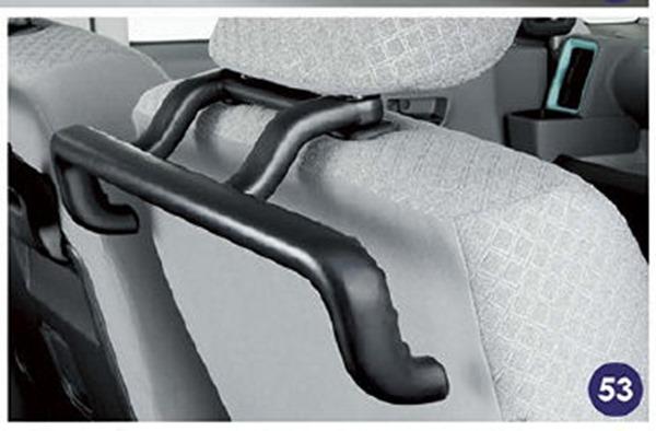 『タント』 純正 la650s la660s ラクスマグリップ(運転席シートバック) パーツ ダイハツ純正部品 オプション アクセサリー 用品