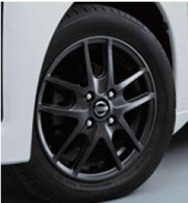 『ルークス』 純正 sm21 アルミホイール5本ツインスポーク(エスティーロ)14×4.5J、インセット46ガングレーメタリック ※標準装着タイヤ組付時 パーツ 日産純正部品 安心の純正品 オプション アクセサリー 用品