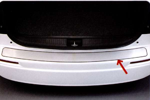 『SX4』 純正 YA11 YB11 リヤバンパープレート パーツ スズキ純正部品 オプション アクセサリー 用品