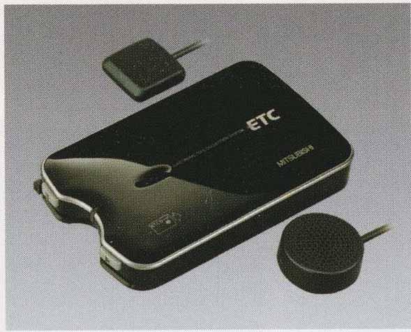 スーパーグレート パーツ ETC(三菱電機製)の3ピース・音声タイプ スピーカー別体型 三菱ふそう純正部品 FU54VZ~ オプション アクセサリー 用品 純正