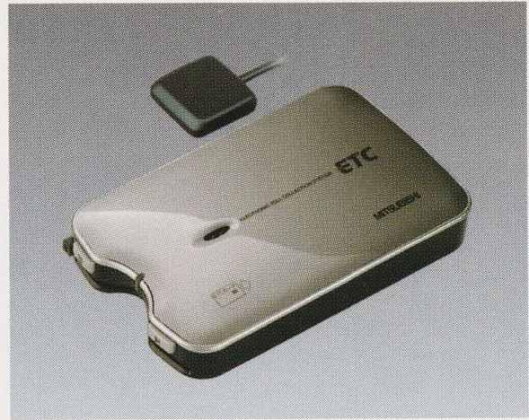 スーパーグレート パーツ ETC(三菱電機製)の3ピース・音声タイプ スピーカー内蔵型 三菱ふそう純正部品 FU54VZ~ オプション アクセサリー 用品 純正