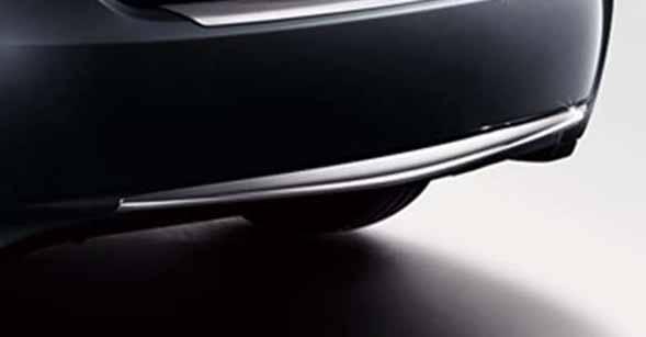 『プリウスPHV』 純正 ZVW35 リヤバンパーガーニッシュ メッキ パーツ トヨタ純正部品 エアロパーツ パネル カスタム prius オプション アクセサリー 用品