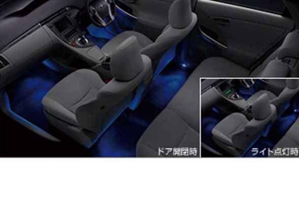 『プリウスPHV』 純正 ZVW35 インテリアイルミネーション 2モードタイプ パーツ トヨタ純正部品 照明 明かり ライト prius オプション アクセサリー 用品