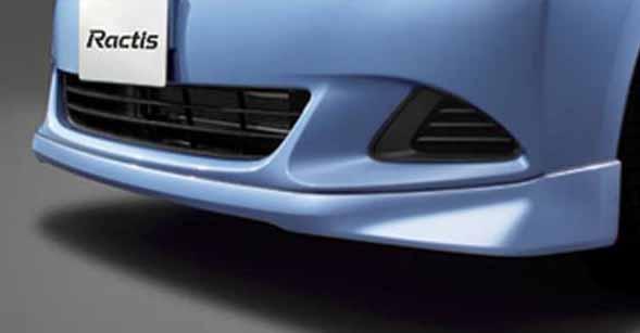 『ラクティス』 純正 NCP120 NCP125 NSP120 フロントスポイラー レピス用 パーツ トヨタ純正部品 カスタム エアロパーツ ractis オプション アクセサリー 用品
