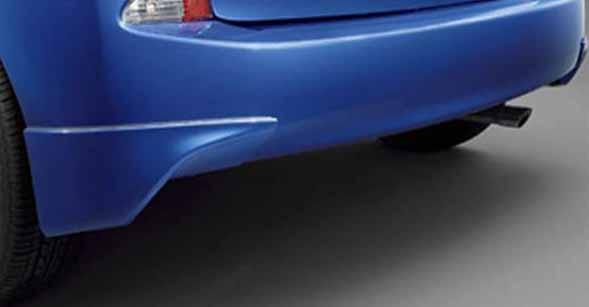『ラクティス』 純正 NCP120 NCP125 NSP120 リヤバンパースポイラー パーツ トヨタ純正部品 ractis オプション アクセサリー 用品