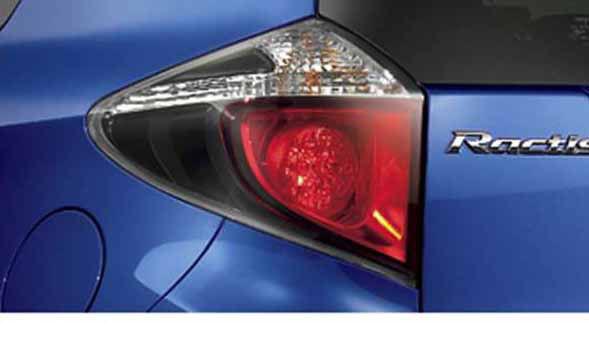 『ラクティス』 純正 NCP120 NCP125 NSP120 メイクアップリヤコンビネーションランプ パーツ トヨタ純正部品 ractis オプション アクセサリー 用品