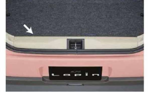 『ラパン』 純正 HE33S リヤゲートメンバーガーニッシュ パーツ スズキ純正部品 lapin オプション アクセサリー 用品