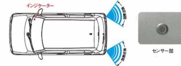 『ラパン』 純正 HE33S コーナーセンサー(リヤ用) パーツ スズキ純正部品 危険察知 接触防止 セキュリティー lapin オプション アクセサリー 用品