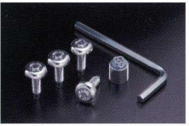 『デイズ』 純正 B21W マックガードナンバープレートロックボルト ZZL6B パーツ 日産純正部品 盗難防止 セキュリティー DAYZ オプション アクセサリー 用品