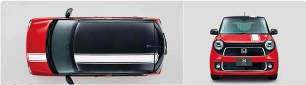 『NONE』 純正 JG1 デカール センターストライプ(ホワイト) パーツ ホンダ純正部品 ステッカー シール ワンポイント オプション アクセサリー 用品