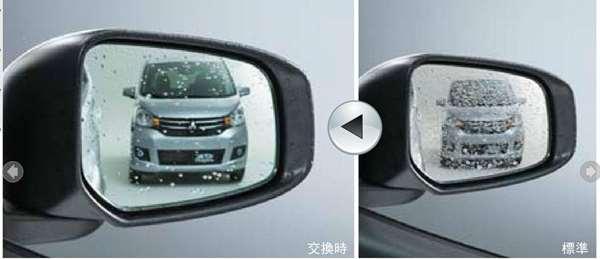 『ekワゴン』 純正 B11W 新水鏡面ドアミラー パーツ 三菱純正部品 オプション アクセサリー 用品
