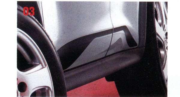 『ジューク』 純正 YF15 ボディサイドロアステッカー パーツ 日産純正部品 シール デカール ワンポイント JUKE オプション アクセサリー 用品