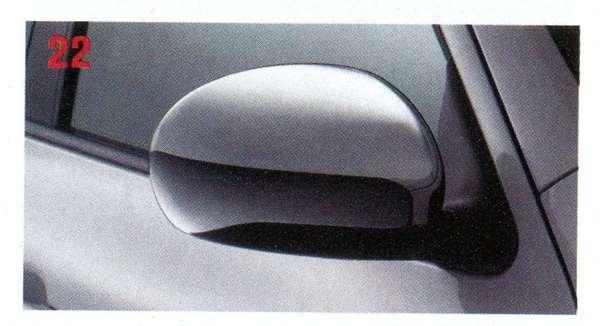 『ジューク』 純正 YF15 メッキ ドアミラーカバー パーツ 日産純正部品 サイドミラーカバー カスタム JUKE オプション アクセサリー 用品