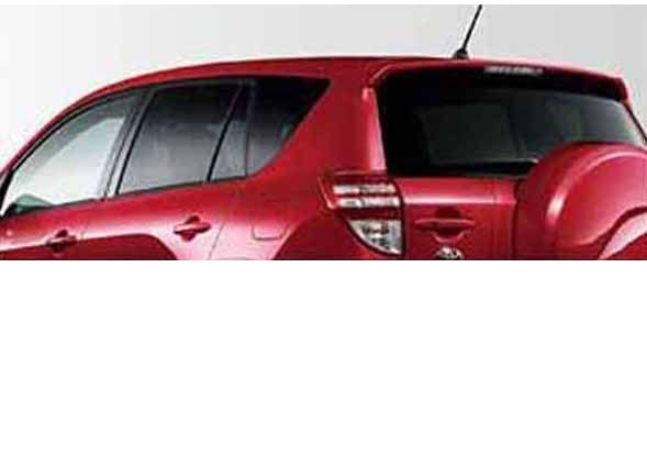 『ラヴ4』 純正 ACA31 ACA36 IR(赤外線)カットフィルムリヤサイド・バックガラス(スモーク) パーツ トヨタ純正部品 日除け カーフィルム rav4 オプション アクセサリー 用品