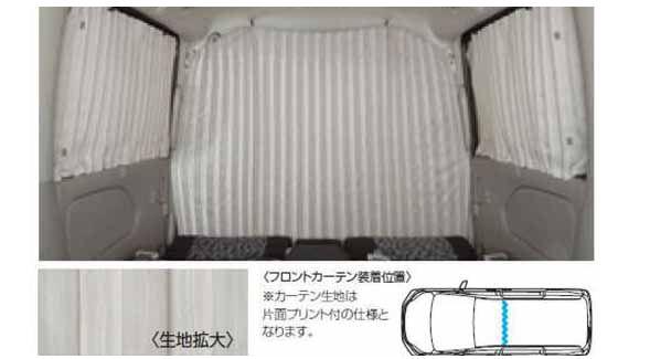 用品 手動カーテン SERENA 純正 オプション アクセサリー C26 『セレナ』 日産純正部品 パーツ