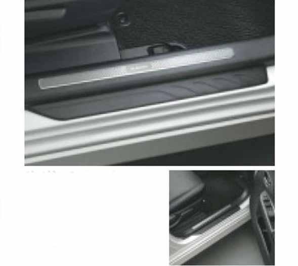 『トレジア』 純正 NSP120X サイドシルプレート フロントセット パーツ スバル純正部品 ステップ 保護 プレート TREZIA オプション アクセサリー 用品