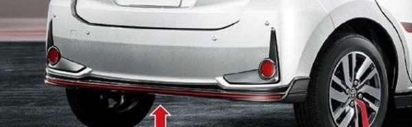 『パッソ』 純正 M700A M710A リヤバンパースポイラー パーツ トヨタ純正部品 オプション アクセサリー 用品