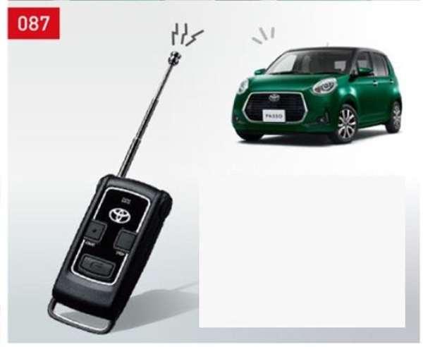 『パッソ』 純正 M700A M710A リモートスタート(キーフリーシステム付車用) パーツ トヨタ純正部品 ワイヤレス エンジンスターター 無線 オプション アクセサリー 用品