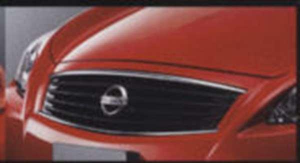 『スカイラインクーペ』 純正 v35 ミッドナイトブラックグリル 50MD0 パーツ 日産純正部品 SKYLINE オプション アクセサリー 用品