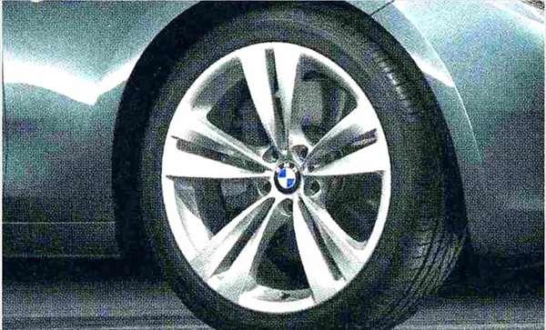 5 GRAN TURISMO パーツ ダブルスポーク・スタイリング316 ホイール単体 10J×20(リヤ) BMW純正部品 SZ20 SN44 オプション アクセサリー 用品 純正 送料無料