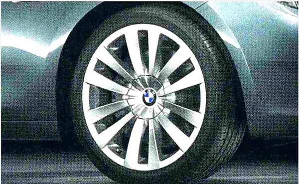 5 GRAN TURISMO パーツ ダブルスポーク・スタイリング253 ホイール単体 8.5J×20(フロント) BMW純正部品 SZ20 SN44 オプション アクセサリー 用品 純正 送料無料