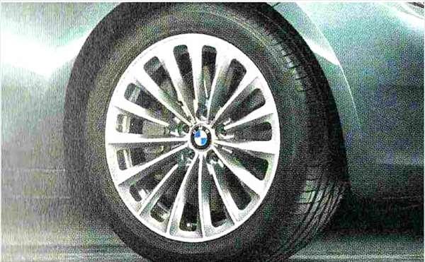 5 GRAN TURISMO パーツ ラジアルスポーク・スタイリング252 ホイール単体8.5J×19(フロント) BMW純正部品 SZ20 SN44 オプション アクセサリー 用品 純正 送料無料