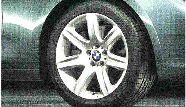 5 GRAN TURISMO パーツ スタースポーク・スタイリング272 ホイール単体9.5J×19(リヤ) BMW純正部品 SZ20 SN44 オプション アクセサリー 用品 純正 送料無料