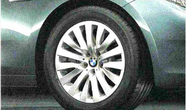5 GRAN TURISMO パーツ Vスポーク・スタイリング254 ホイール単体8J×18(フロント/リヤ) BMW純正部品 SZ20 SN44 オプション アクセサリー 用品 純正 送料無料