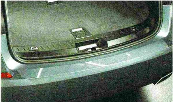 5 GRAN TURISMO パーツ リヤ・バンパー・シル・プロテクション BMW純正部品 SZ20 SN44 オプション アクセサリー 用品 純正