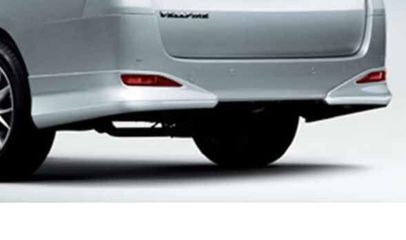 『ヴェルファイア』 純正 GGH20 ANH20 GGH25 リヤバンパースポイラー パーツ トヨタ純正部品 vellfire オプション アクセサリー 用品