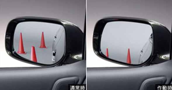 『ブレイド』 純正 AZE156 AZE154 GRE156 リバース連動ミラー ※ミラー本体ではありません パーツ トヨタ純正部品 バック 自動 安全確認 blade オプション アクセサリー 用品