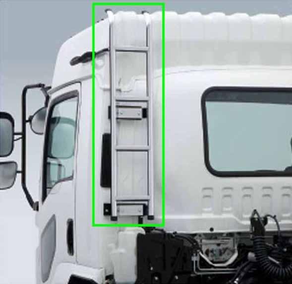 『ギガ』 純正 2PG-CYL77C-VX-~ キャブバックハシゴ トラクタ用 プライマー ※未塗装 メッキ パーツ いすゞ純正部品 オプション アクセサリー 用品