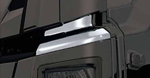 『ギガ』 純正 2PG-CYL77C-VX-~ メッキバンパーアッパーカバーセット パーツ いすゞ純正部品 オプション アクセサリー 用品
