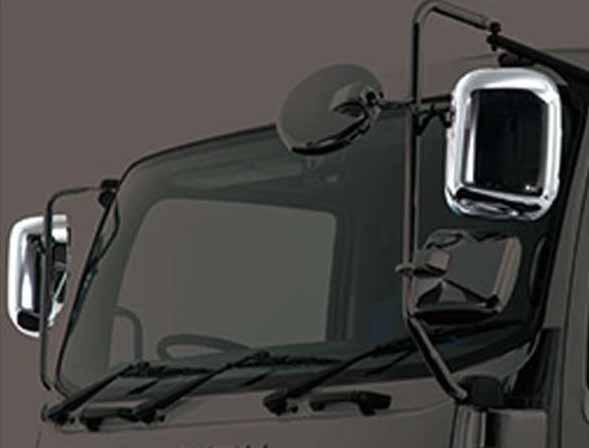 『ギガ』 純正 2PG-CYL77C-VX-~ メッキミラーカバー 左 パーツ いすゞ純正部品 ドアミラーカバー サイドミラーカバー カスタム オプション アクセサリー 用品