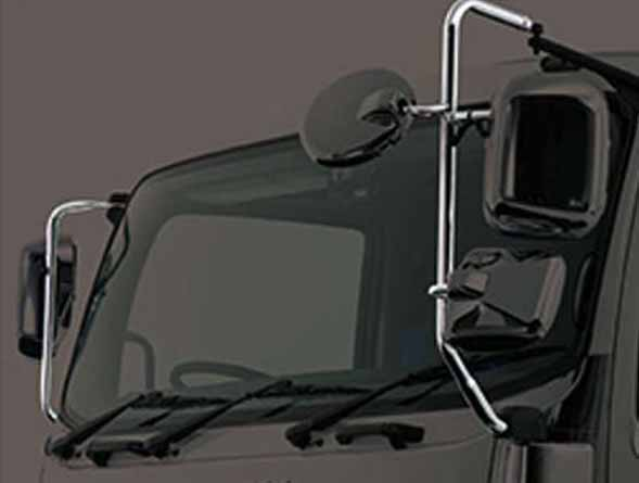 『ギガ』 純正 2PG-CYL77C-VX-~ メッキミラーステー 左 リモコン(鏡面調整)用 パーツ いすゞ純正部品 オプション アクセサリー 用品